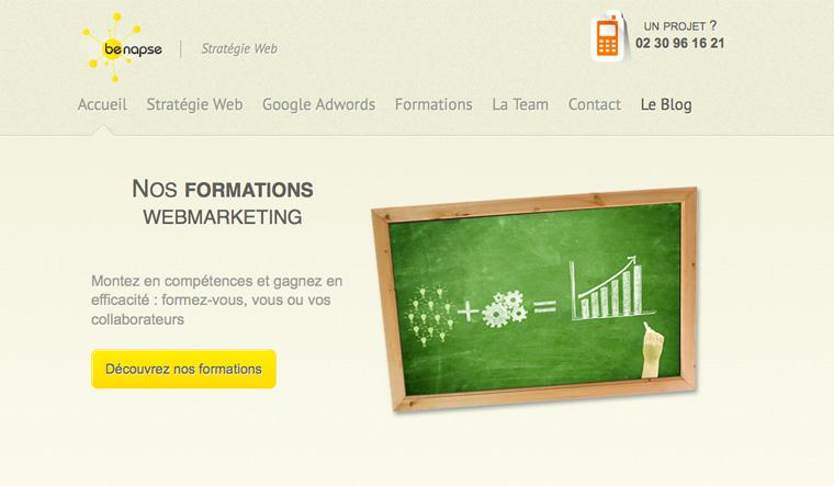 Webdesign : Benapse