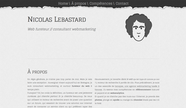 Webdesign : Nicolas Lebastard