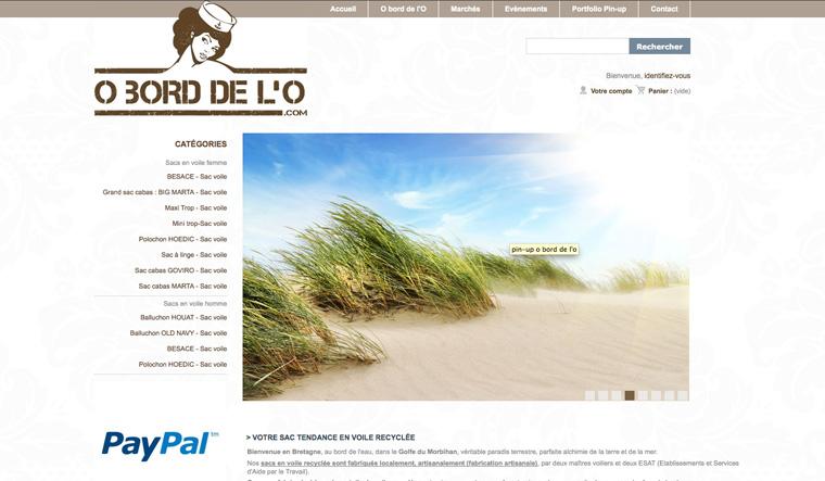 Webdesign : O bord de l'O