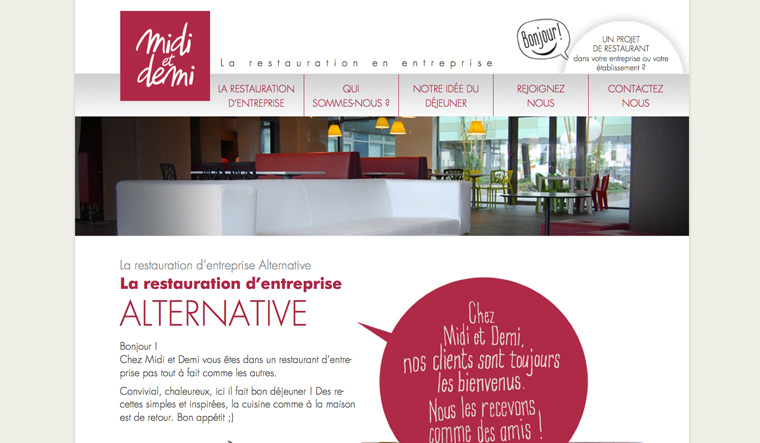Webdesign Midi et Demi