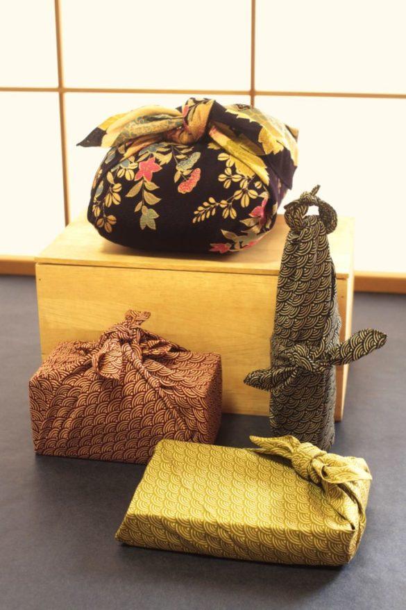 Furoshiki pour offrir des cadeaux