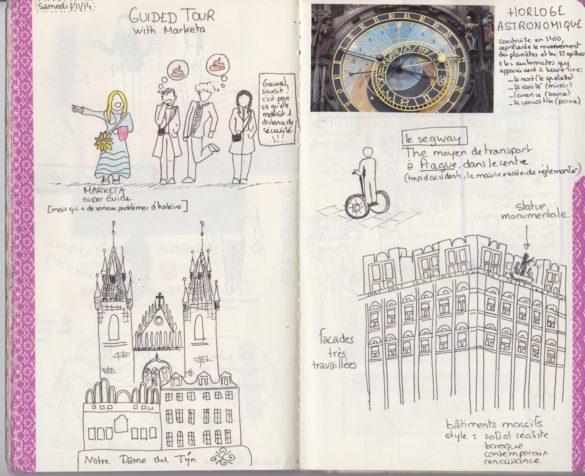 Carnet de voyage à Prague